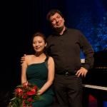 Stella Son e Riccardo Mascia al pianoforte